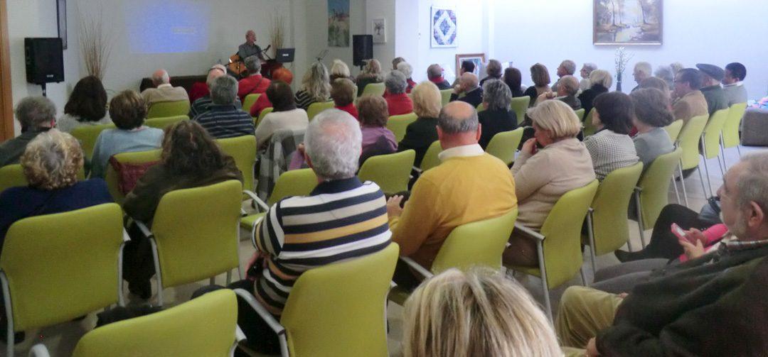 Recital Joaquín Lanzas en el Residencial Puerto de la Luz Málaga