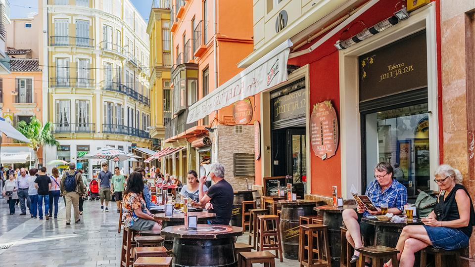 Málaga como destino principal de jubilación